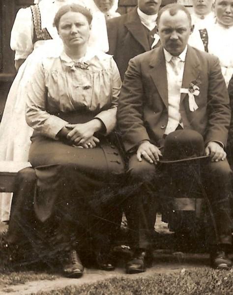 Karolina i Ferdynand Rzehaczek