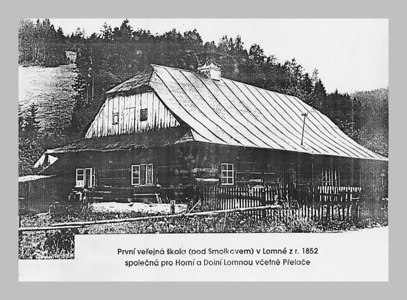 Szkoła w Dolnej Łomnej Na Matyszczynej Łące (Pod Smołkowem)